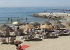 Listado de lotes de hamacas y sombrillas de Marbella en concurso